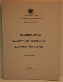 Shaheen,-Scientific Basis of Treatment and Conservation of Parchment and Papyr